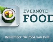 Evernote Food : Ses plats préférés dans une app mobile