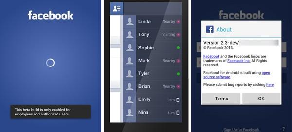 Facebook Home : La page d'accueil Android connectée à Facebook