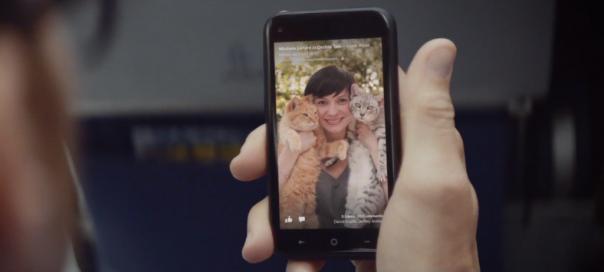 Facebook Home : Publicité vidéo pour l'application mobile