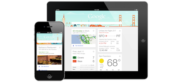 Google Now : iPhone & iPad (iOS)