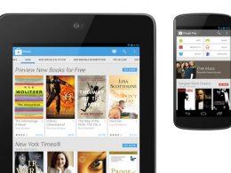 Google Play : Nouveau design