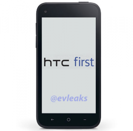 HTC First : Le smartphone Facebook embarquant Facebook Home