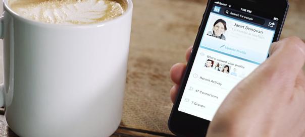 LinkedIn : Nouvelle application mobile, avec publicité