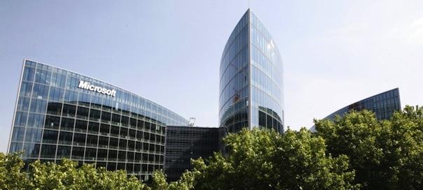 Microsoft : Centre de conférence