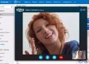 Outlook.com : Skype dans les navigateurs internet