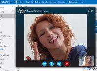 Outlook.com : Skype