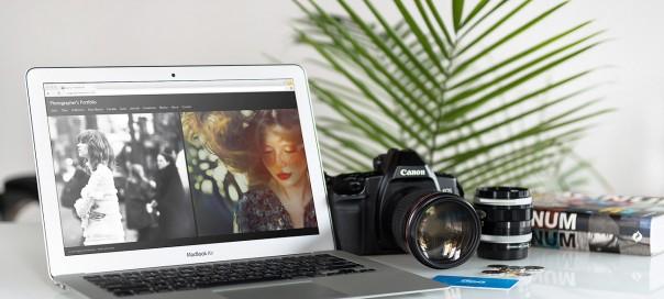 500px : Portfolios et thèmes responsives personnalisables