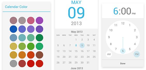 Google Agenda : Couleurs et redesign de l'application mobile