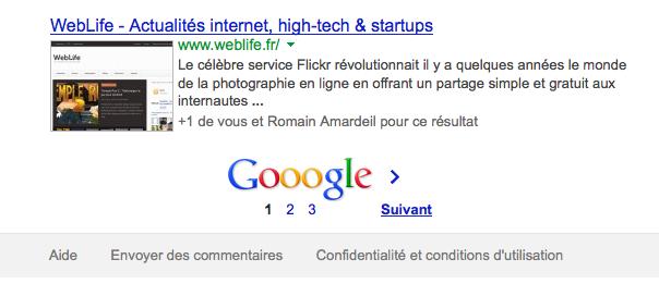 Google : La commande site: limite à 3 pages de résultats