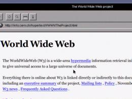 Histoire d'internet