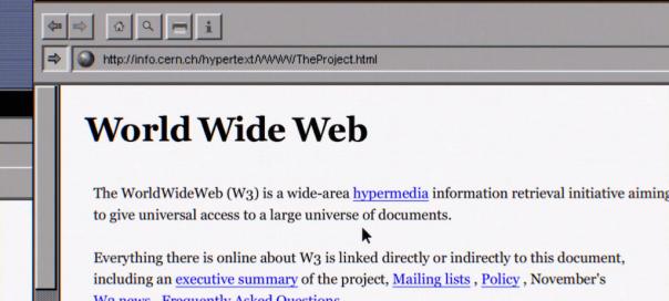 Internet : Histoire et évolution du web en vidéo