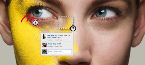 Marqueed : Commenter visuellement photos et images