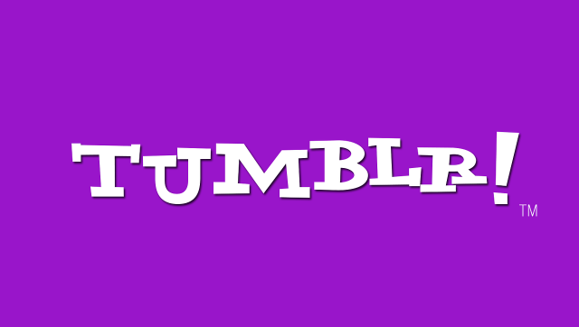 Logo Tumblr en mode Yahoo!