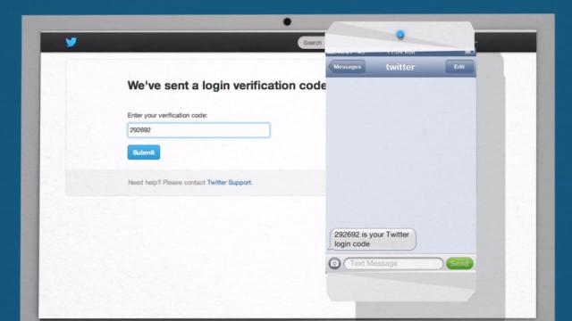 Twitter : Code de vérification