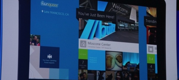 Foursquare : Sortie d'une application Windows 8
