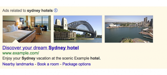 Google AdWords : Extension images