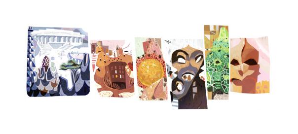 Google : Doodle Antoni Gaudi