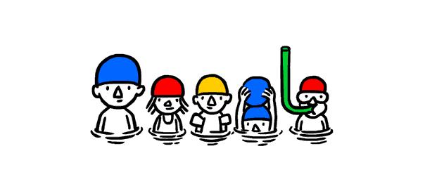 Google : Solstice d'été fêté via un doodle dynamique