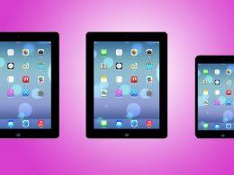 iOS 7 : iPad