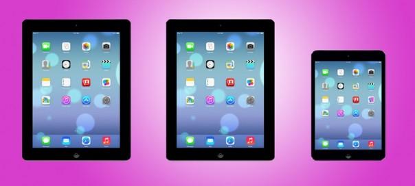 iOS 7 : Nouvelle version bêta avec support de l'iPad