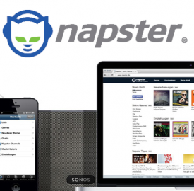 Napster : Le streaming de musique de retour en France