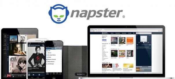 Napster : Le streaming de musique de retour en France