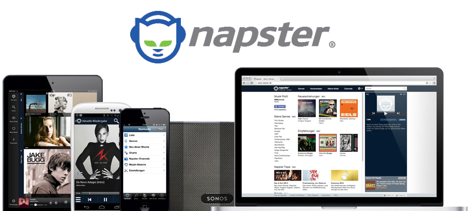 napster le streaming de musique de retour en france weblife. Black Bedroom Furniture Sets. Home Design Ideas