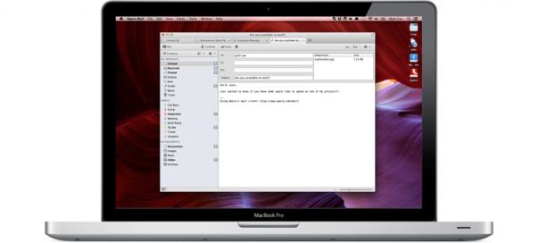 Opera Mail : Le client mail indépendant du navigateur