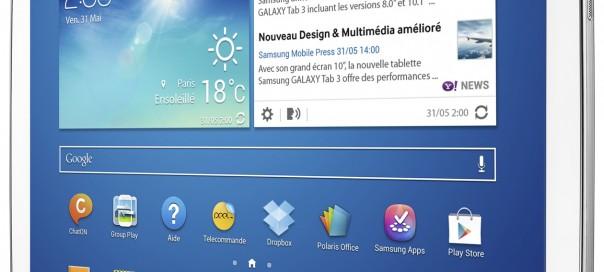 Samsung Galaxy Tab 3 : Lancement le 7 juillet et en pré-commande aujourd'hui