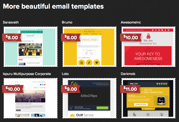 Stamplia : Templates email