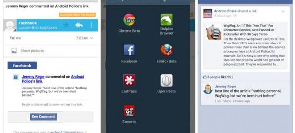 Facebook Android : Ouverture des liens directement dans l'application ?