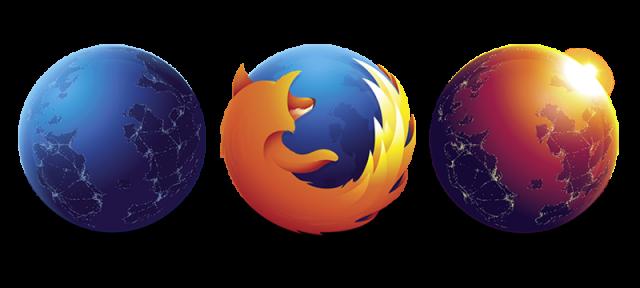 Firefox : Logos des canaux de développement