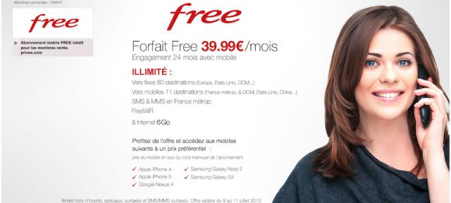 Free & Vente Privée