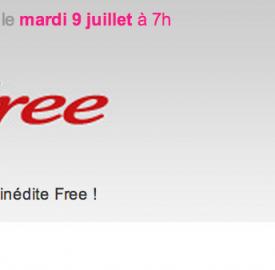 Free : Une vente privée inédite pour demain