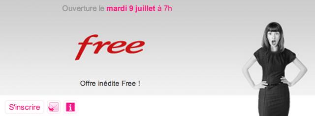 Free : Vente privée