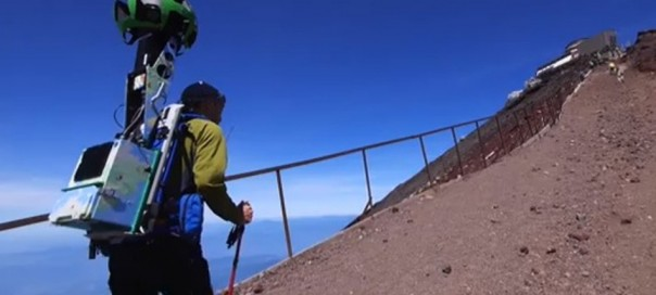 Google Street View : Escaladez des montagnes virtuellement !