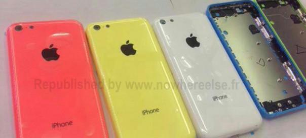 iPhone : Coloris pour les téléphones en plastique ?