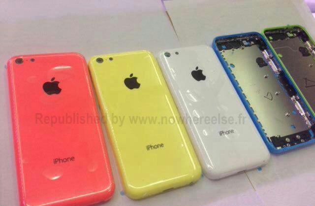 iPhone Couleur en Plastique