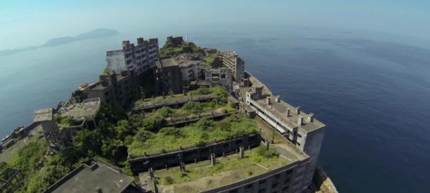 Google Street View : L'île de Hashima au Japon dans la boîte