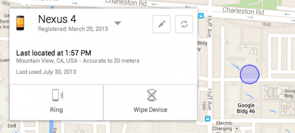 Android Device Manager : Localiser son smartphone et protéger ses données