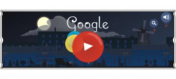 Google : Claude Debussy, le compositeur français en doodle