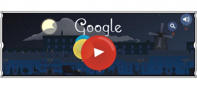 Google : Doodle Claude Debussy
