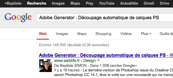 Google Authorship : Google+ Sign-In identifie un auteur !