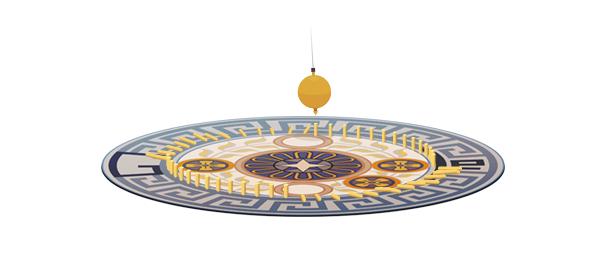 Google : Léon Foucault et son pendule en doodle