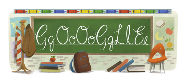 Google : Rentrée des classes, reprise des cours en doodle
