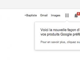 Google : Produits préférés