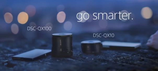 Sony QX10 & QX100 : Objectifs pour smartphones & tablettes