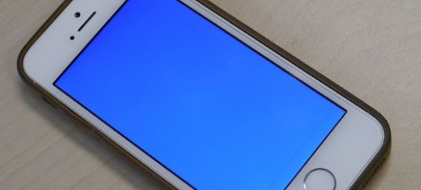 iPhone 5S : Blue Screen Of the Death (BSoD)