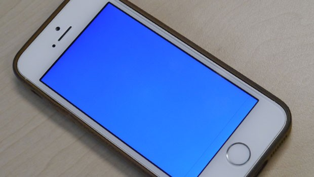 iPhone 5S : Blue Screen Of the Death