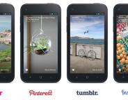 Facebook Home : Applications sociales tierces de la partie
